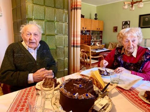Menyhei Sándor 90. születésnapi köszöntése